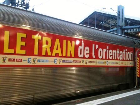 Le Train de l'Orientation a fait étape à Toulouse