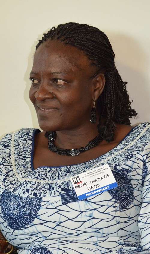 Regina Ouattara: «La liberté d'expression est un combat de tous les jours»