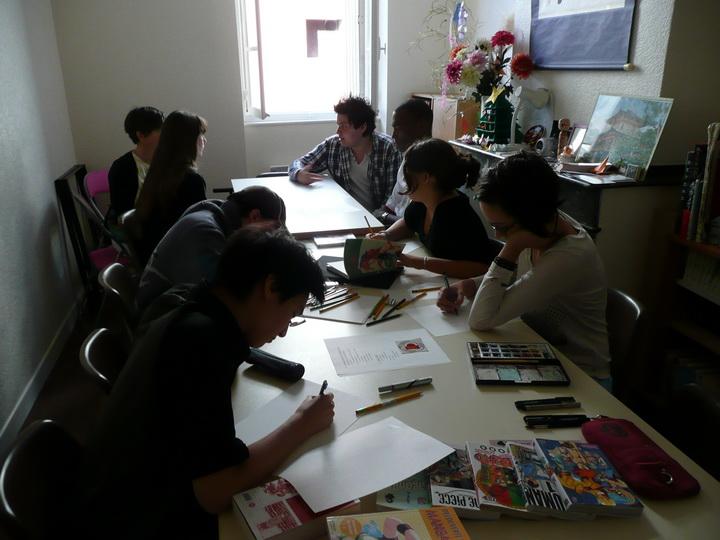 Apprendre le manga, c'est possible à Toulouse