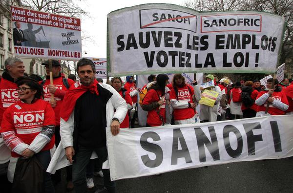Les Sanofi toujours mobilisés