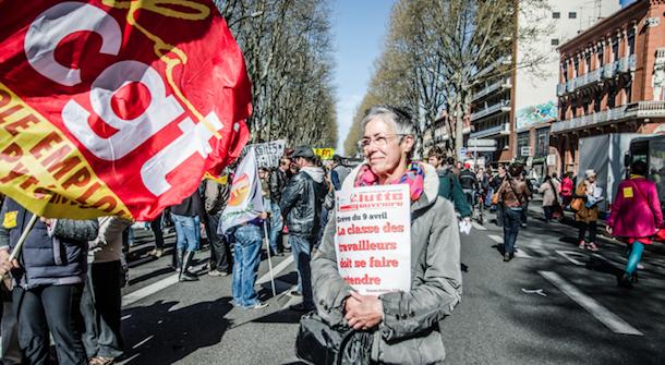 Toulouse : avec la gauche contestataire, au défilé anti-austérité du 9 avril