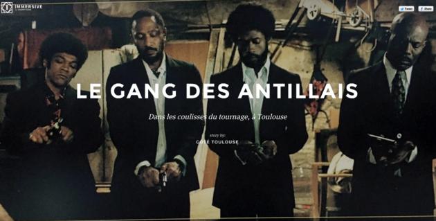 « Le gang des Antillais » : dans les coulisses du tournage