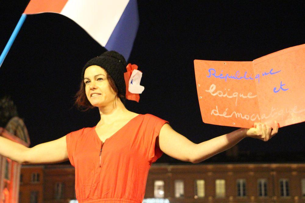 Attentats : «Paris, Toulouse est avec toi !»