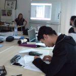 À Toulouse, premiers cours pour les élèves de l'école de manga