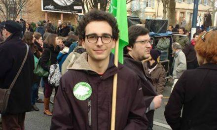 Jeunes Écologistes de Toulouse. Pour Raphaël Négrini, la personnalité des candidats à la primaire fera la différence