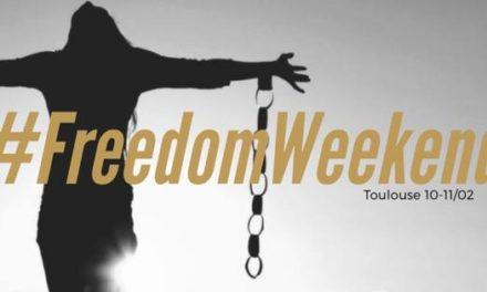 Freedom Weekend: les 10 et 11 février, la liberté portée par les artistes