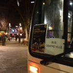Première sortie pour les bus de nuit à Toulouse