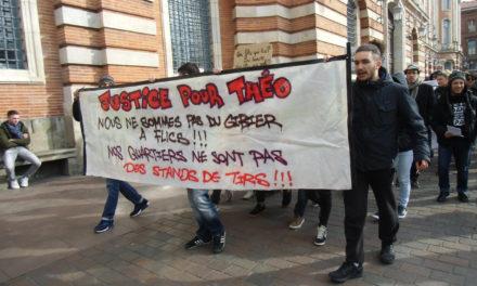 « Affaire Théo » : manifestation contre les violences policières à Toulouse