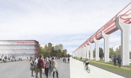 Le train futuriste Hyperloop débarque à Toulouse