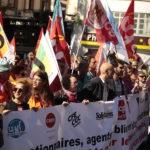 À Toulouse, forte mobilisation du secteur public contre les réformes Macron