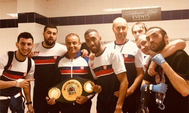 Mohamed Mimoune : «La boxe m'a sauvé du pire»