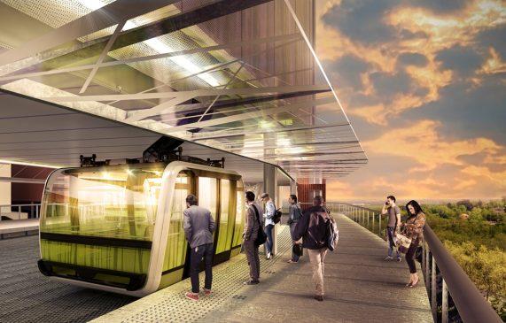 Projet Téléphérique Urbain Sud, le transport de demain