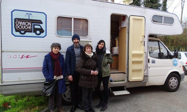 Des dispositifs d'hygiène mobiles pour les sans-abris à Toulouse
