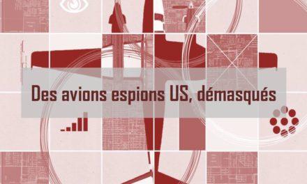 Des avions espions US démasqués par le data journalisme