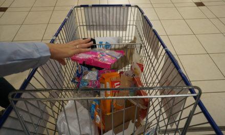 Opération «déplastification» dans un supermarché