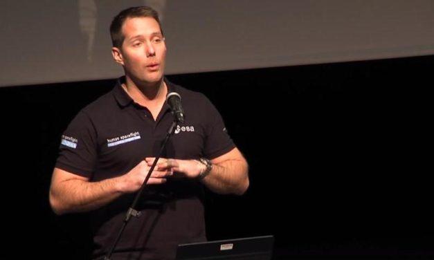 Thomas Pesquet à Toulouse pour le lancement du concours étudiant « Génération ISS »