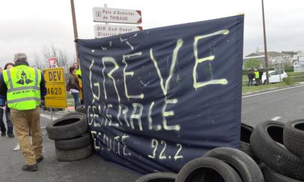Appel à la grève générale : les Gilets jaunes retrouvent les ronds-points