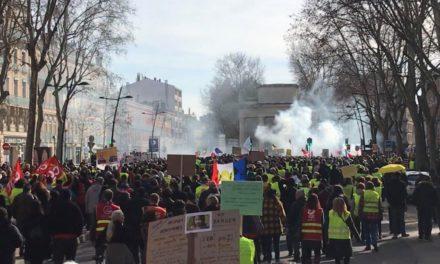 Toulouse, capitale nationale des Gilets jaunes pour l'acte XXII