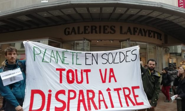 Toulouse. Les militants écologistes se mobilisent contre les soldes