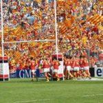 Retro'Sport en images. 9 avril 2011 Perpignan transforme l'essai en Espagne