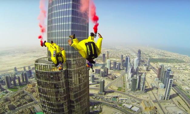 Rétro'sport en images : 22 avril 2014, les Soul Flyers s'élancent dans le vide