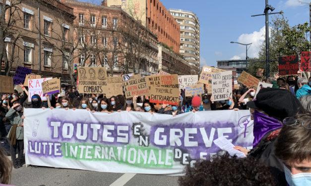 Manifestation du 8 mars à Toulouse : «Je ne sais pas si ça sert mais en tout cas ça nous fait du bien»