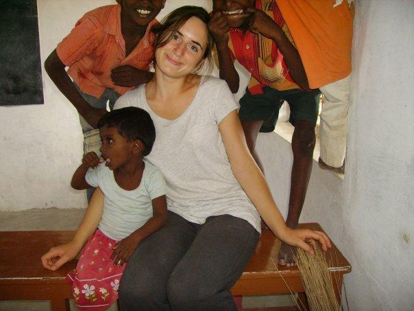 Manon, bénévole auprès des réfugiés
