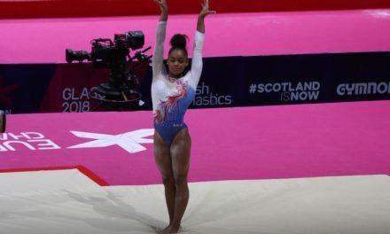 Rétro'Sport en images : 10 avril 2019, Mélanie De Jesus Dos Santos sur le toit de l'Europe