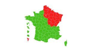 """Les départements verts et rouges pour le déconfinement, des """"mesurettes"""" pour l'opposition."""