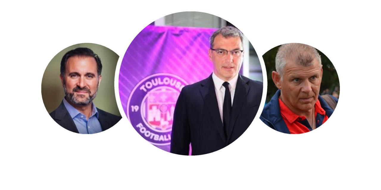 Trois hommes pour changer la face du football toulousain